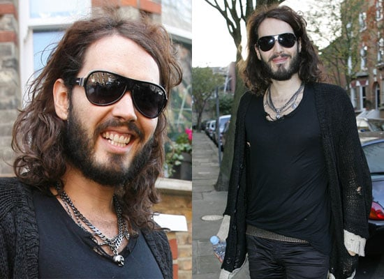 Photos of Russell Brand Who Has Been Suspended From the BBC Over His Prank on Andrew Sachs