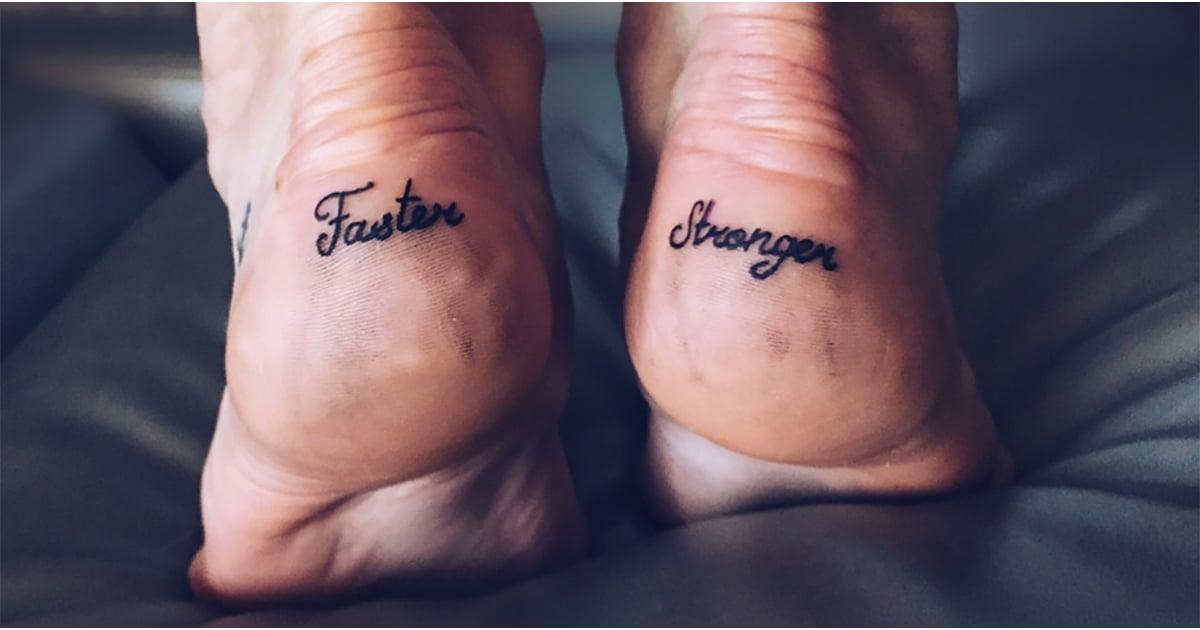 best fitness tattoo ideas popsugar fitness australia. Black Bedroom Furniture Sets. Home Design Ideas