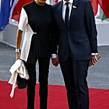 For a Concert, the First Lady Wore This Striking Look