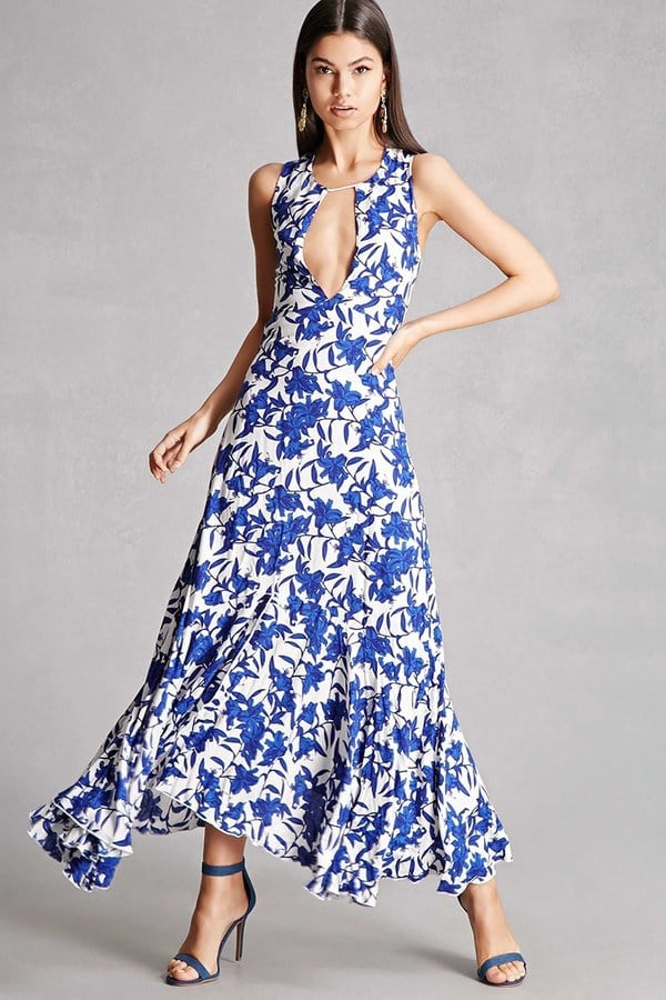 7f01d16a451 Forever 21 Nightwalker Floral Maxi Dress