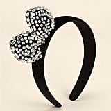 Velvet Kitten Ear Headband, $65