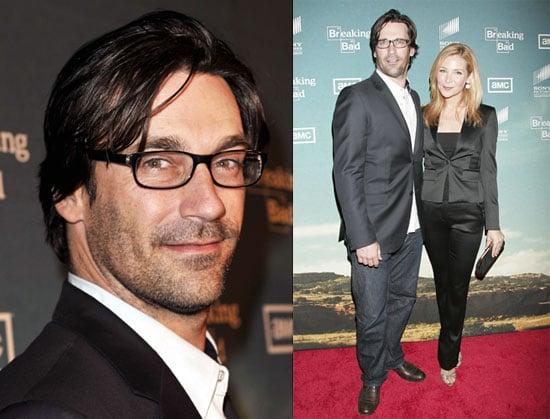 Photos of Jon Hamm, Jennifer Westfeldt and Krysten Ritter at AMC's Premiere of Breaking Bad