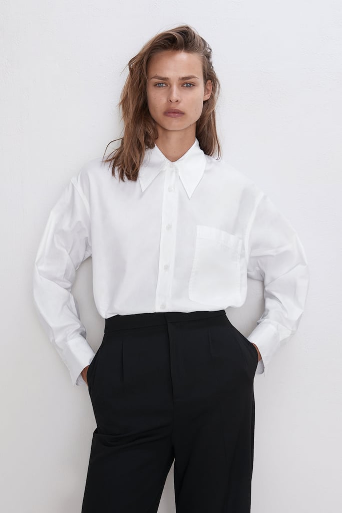Zara Shirt With Pocket ($99)