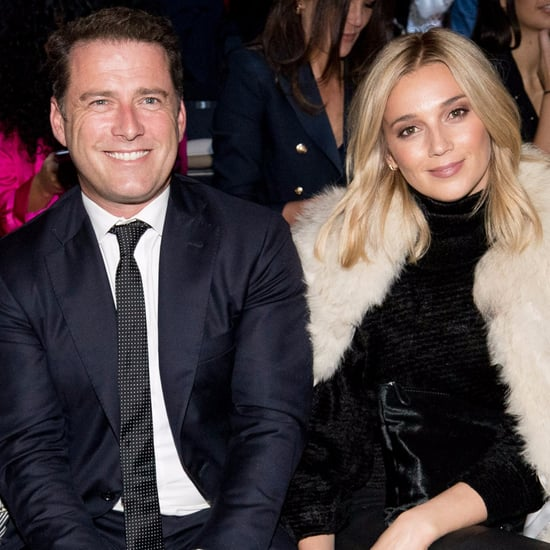 Karl Stefanovic With Girlfriend Jasmine Yarbrough at MBFWA