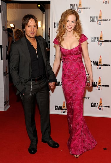 Nicole Kidman and husband Keith Urban at the 43rd Annual CMA Awards