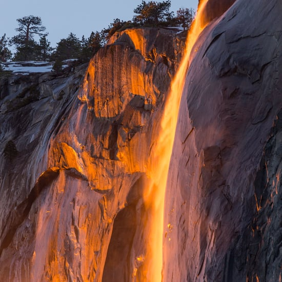 What Is the Firefall Event at Yosemite?