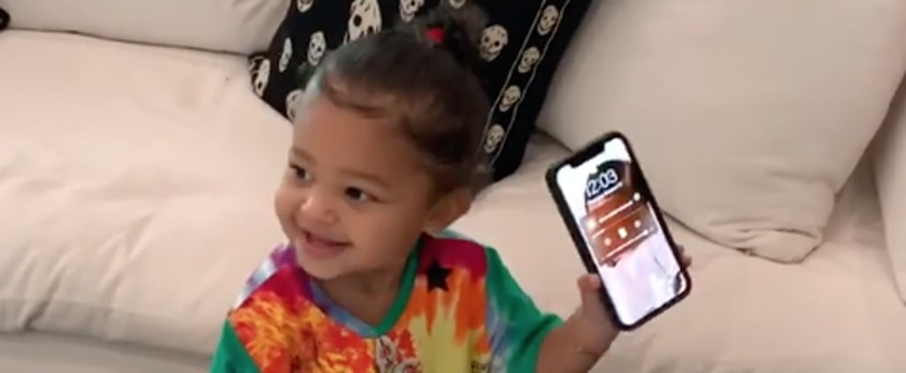 """Stormi Dancing to Kylie Jenner Singing """"Rise and Shine"""""""