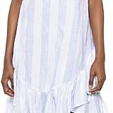 Moon River Stripe Ruffle Dress ($80)