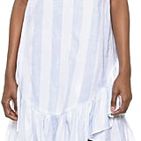 Moon River Stripe Ruffle Dress ($80)