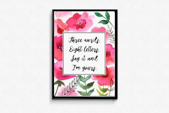 Quote Print ($2)