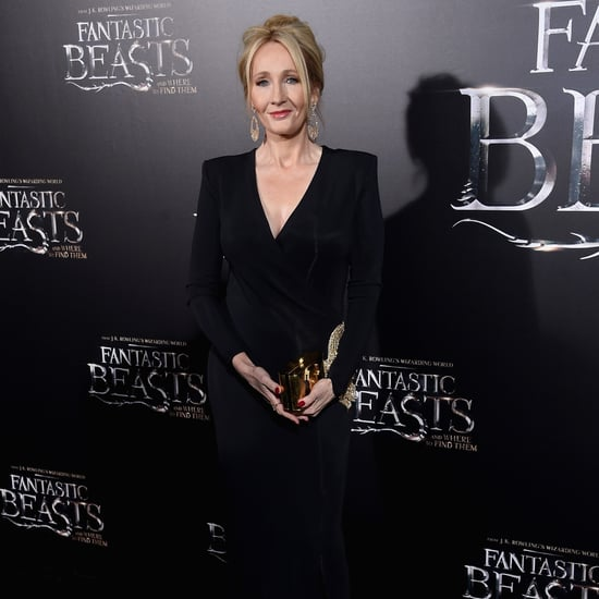 J.K. Rowling at Fantastic Beasts Premiere in NYC 2016