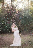 This Confetti Maternity Shoot Captures the Sheer Joy of a Rainbow Baby