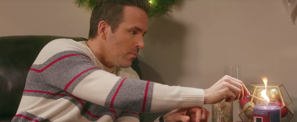 Watch Ryan Reynolds's Hilarious Candle Commercial Skit