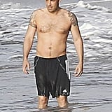 We got a rare shirtless glimpse of Ben Affleck while he vacationed with family in Puerto Rico back August.
