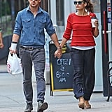 Ryan Gosling and Eva Mendes were hand in hand for an NYC stroll in May.