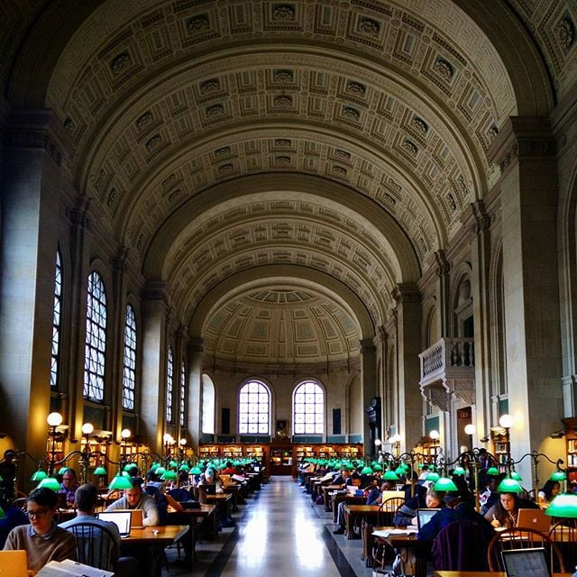 Boston Public Library, USA