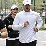 The duo jogged around NYC together in April 2009.