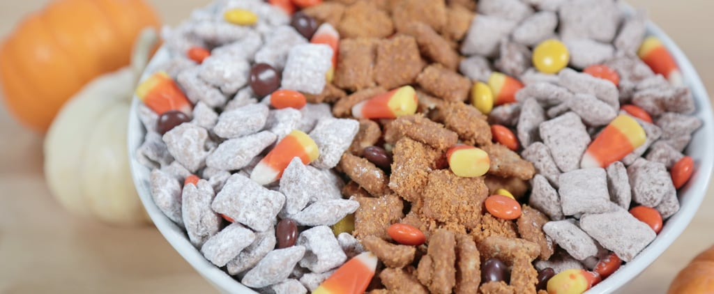 Halloween Candy Puppy Chow Recipe