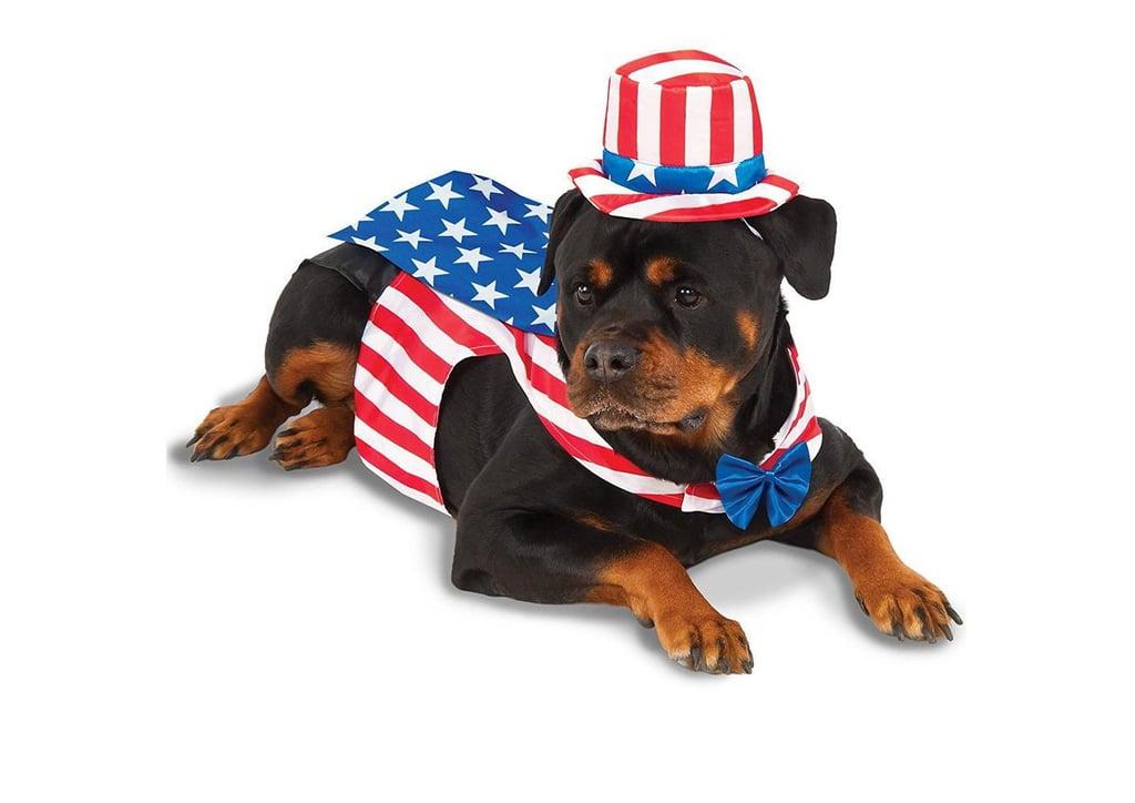 Rubies Uncle Sam Big Dog Pet Costume