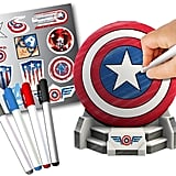 Marvel Captain America Design A Vinyl Shield Set
