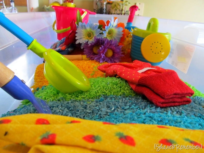 Pretend Gardening For Tots