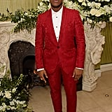 John Boyega at the British Vogue and Tiffany & Co. Fashion and Film Party