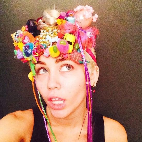 Miley Cyrus's Art in V Magazine September 2014