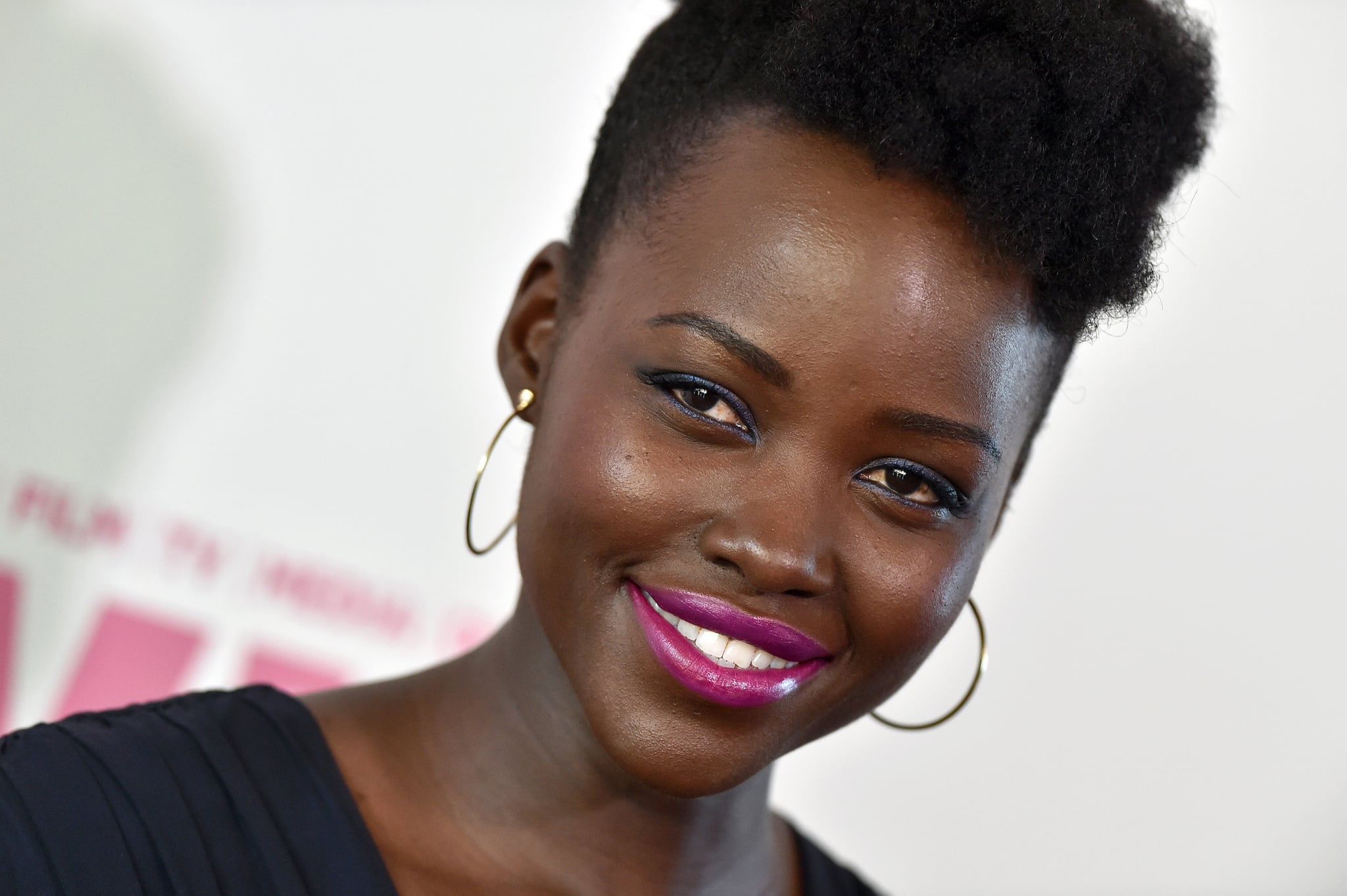 Lupita Nyong O S Hair Photoshopped Off Grazia Uk Cover