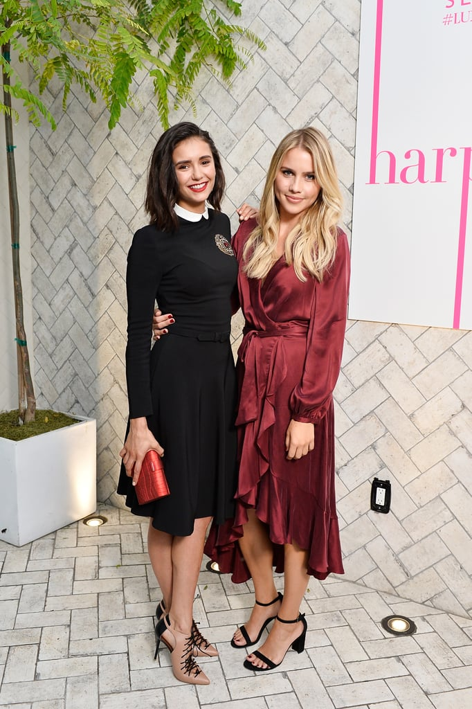 Nina With Claire Holt