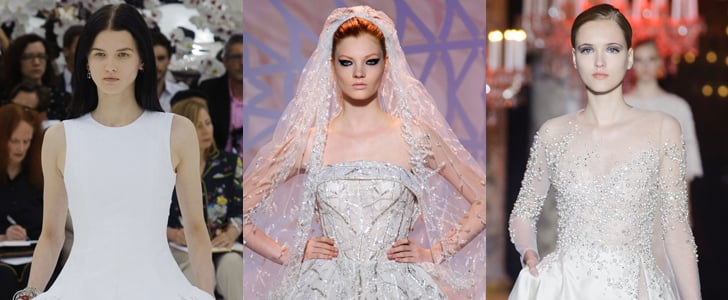 Wedding Dresses Runway 2014 Paris Haute Couture Fashion Week