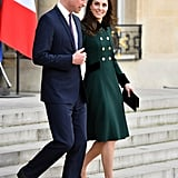 Prince William and Kate Middleton in Paris 2017 Pictures