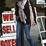 Eva Longoria Shopping in LA