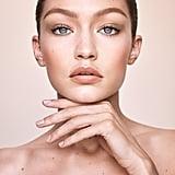 Gigi Hadid Wearing Her Maybelline Jetsetter Palette