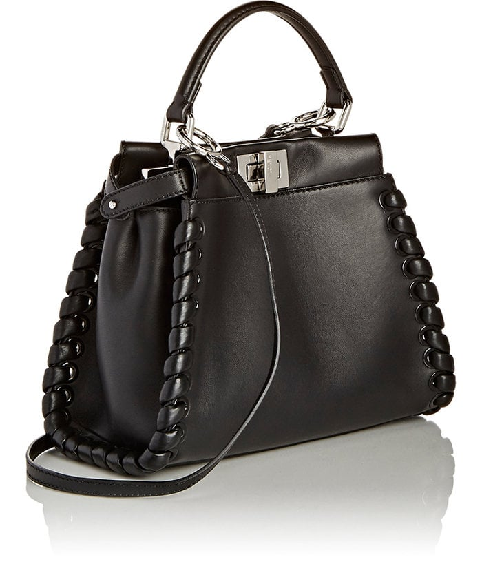 Fendi Peekaboo Mini Satchel ($3,550)