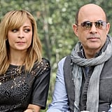 John Varvatos and Nicole Richie took time out of shooting Fashion Star to attend NBCUniversal's Summer press day held at The Langham Huntington Hotel.