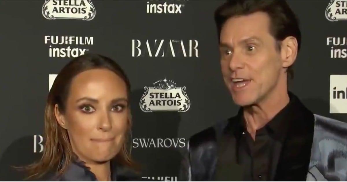 Jim Carrey Interview At New York Fashion Week 2017