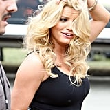 Jessica Simpson at Chili Cook Off