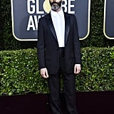 Jeremy Strong at the Golden Globes