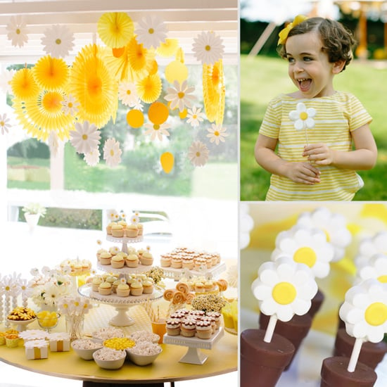 How to Throw a Daisy-Themed Shower or Birthday Party