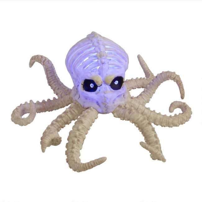 Octopus Skeleton LED Light Up Decor