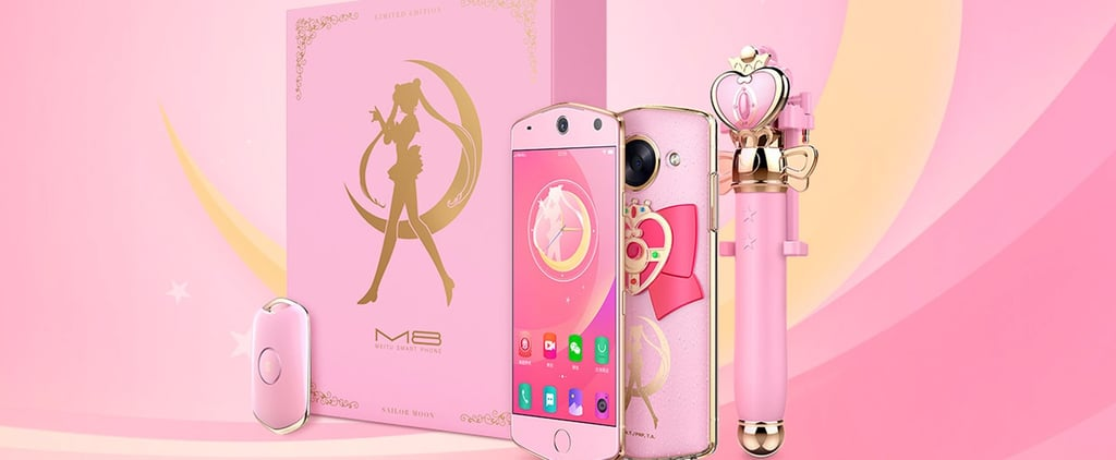 You Can Now Text Tuxedo Mask on This Very Real Sailor Moon Phone