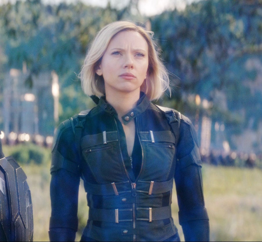 Black Widow From Avengers: Infinity War