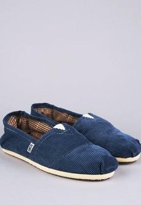 TOMS slip on shoes $48, Tobi