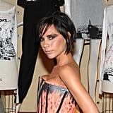 In September 2009, VB was growing out her cute pixie crop.