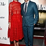 Michelle Monaghan and James Marsden teamed up for the premiere of The Best of Me in LA on Tuesday.