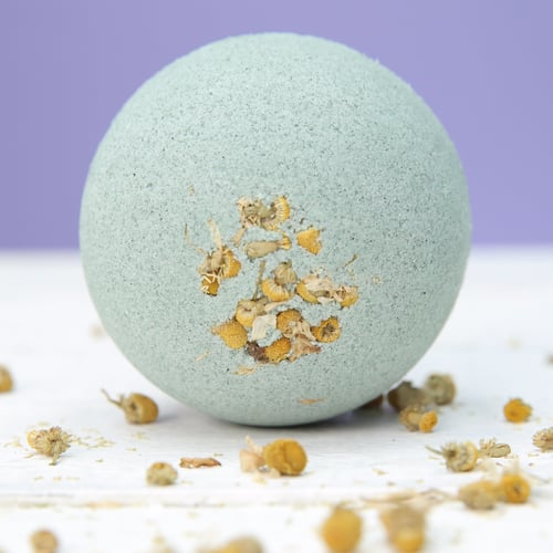 DIY Sleepy Bath Bomb