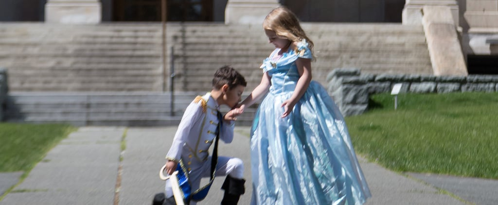 Best Friends' Disney Princess and Prince Charming Photos