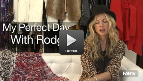 Sugar Shout Out: Rachel Zoe's Designer Influences and Perfect Day