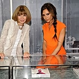 Victoria Beckham celebrated Fashion's Night Out in NYC in September with Anna Wintour.
