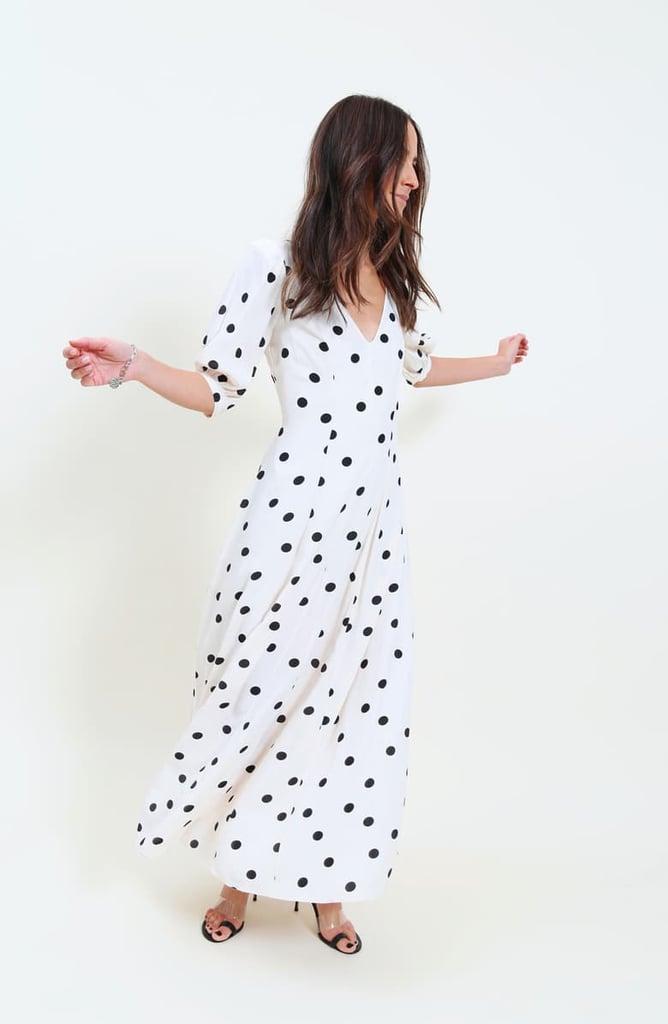 Something Navy Print Dress
